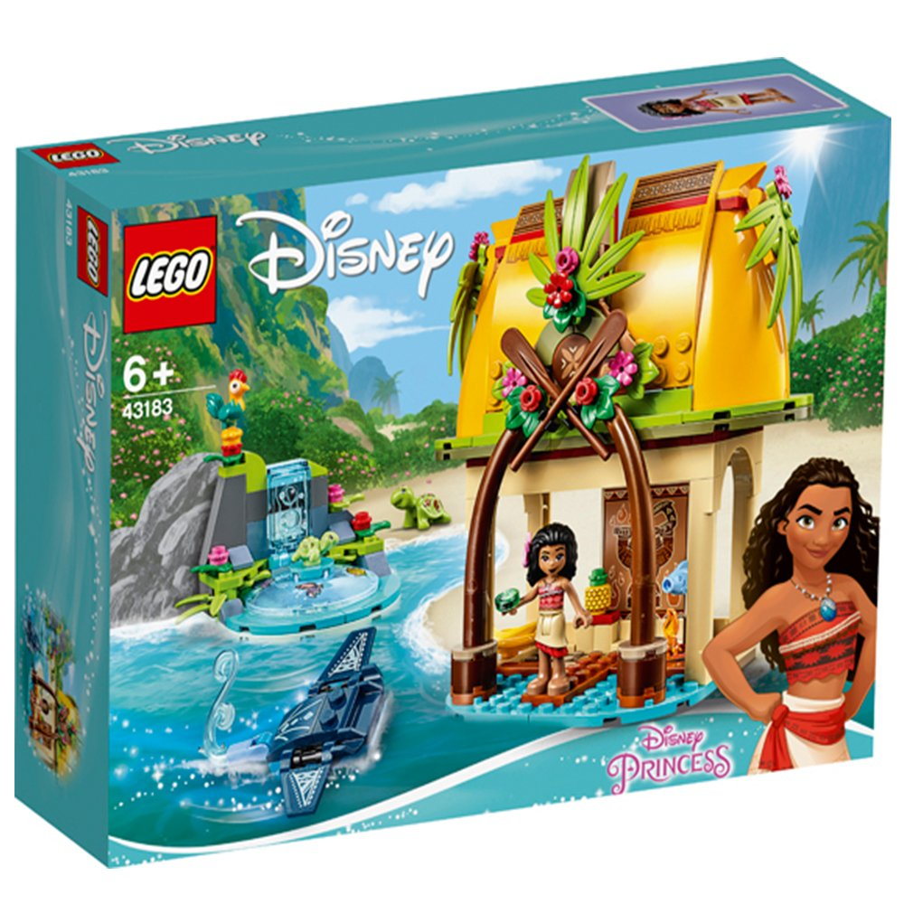 LEGO 樂高積木 Disney Princess 43183 莫娜的島嶼之家
