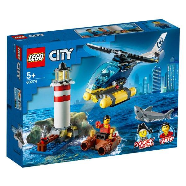 LEGO樂高積木City Police60274特警燈塔拘捕