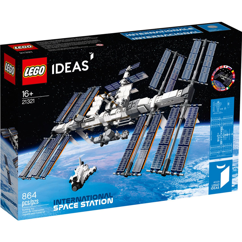 LEGO 樂高 Ideas系列21321 國際太空站