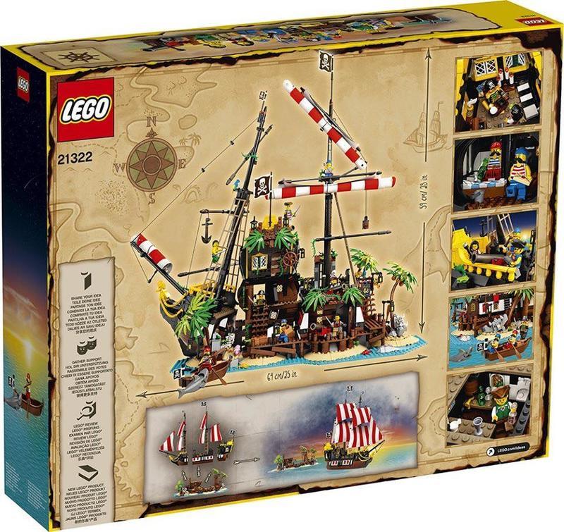 LEGO21322梭魚灣海盜