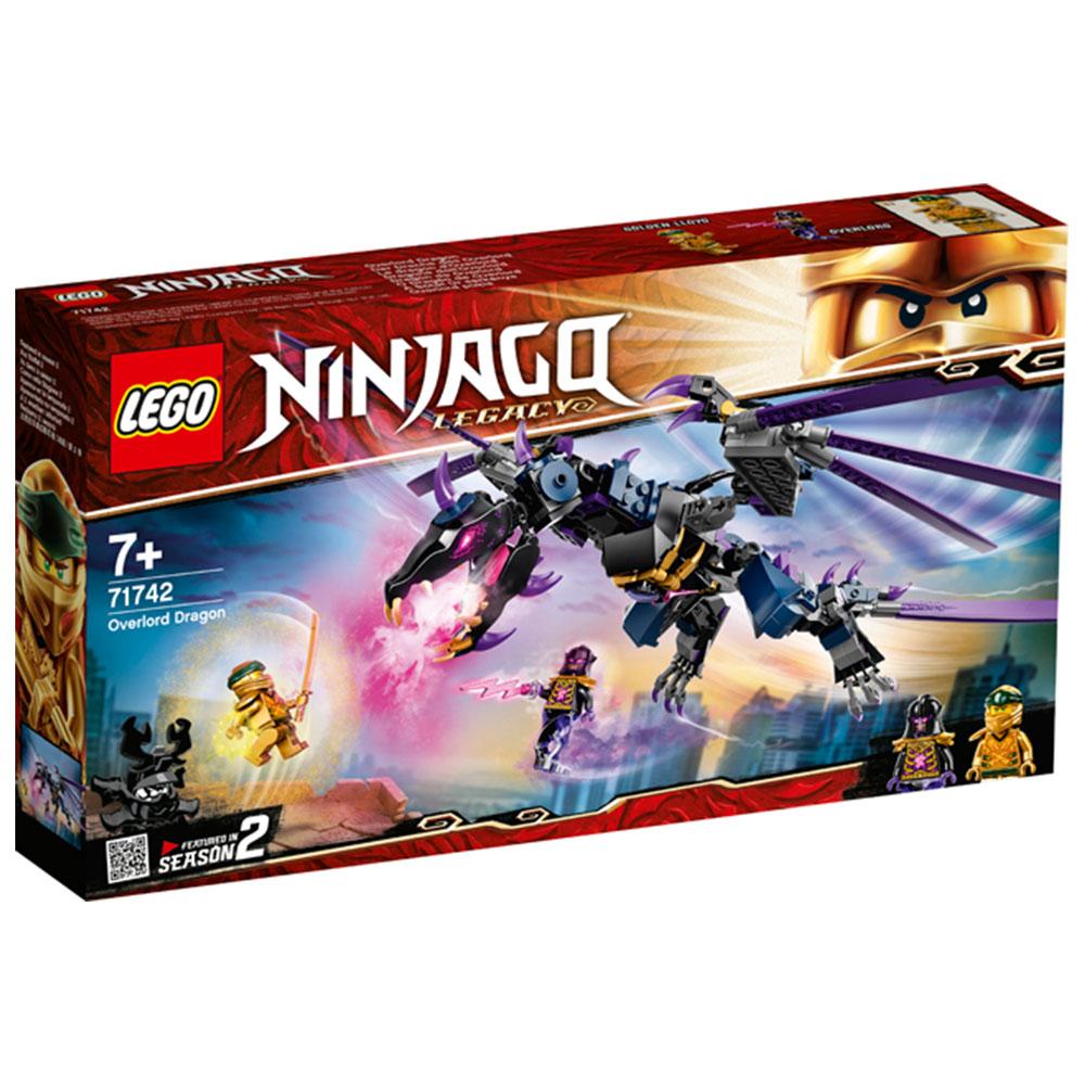 LEGO 樂高積木 Ninjago 71742 龍與黑暗島主