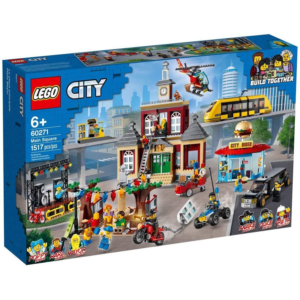 LEGO 樂高積木 City LT60271 主廣場