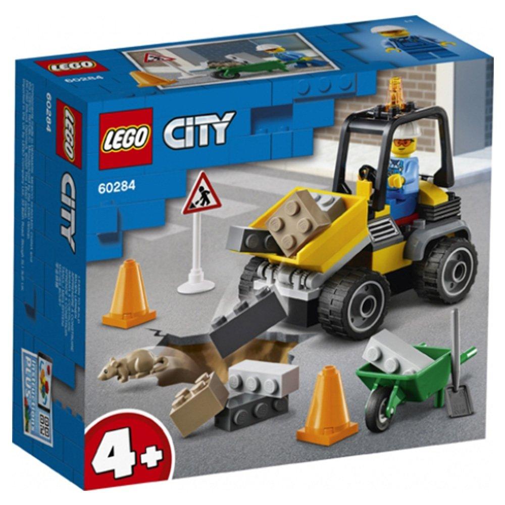 【2021.1月新品】LEGO 樂高積木 City Great Vehicles60284 道路工程車