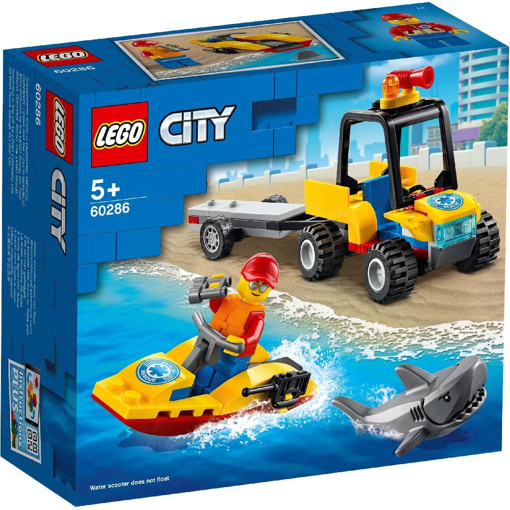 【2021.1月新品】LEGO 樂高積木 City Great Vehicles 60286 海灘救援 ATV