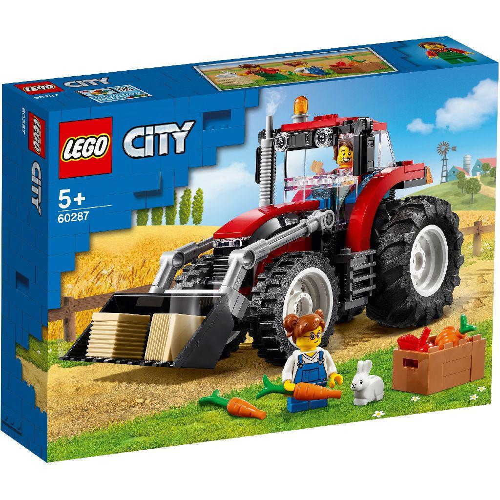 【2021.1月新品】LEGO 樂高積木 City Great Vehicles 60287 拖拉機
