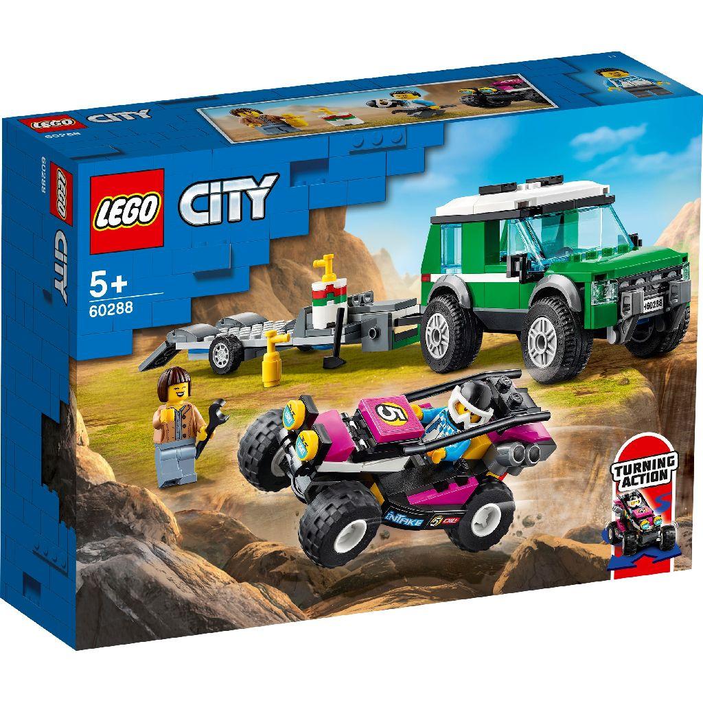 【2021.1月新品】LEGO 樂高積木 City Great Vehicles 60288 越野賽車運輸車