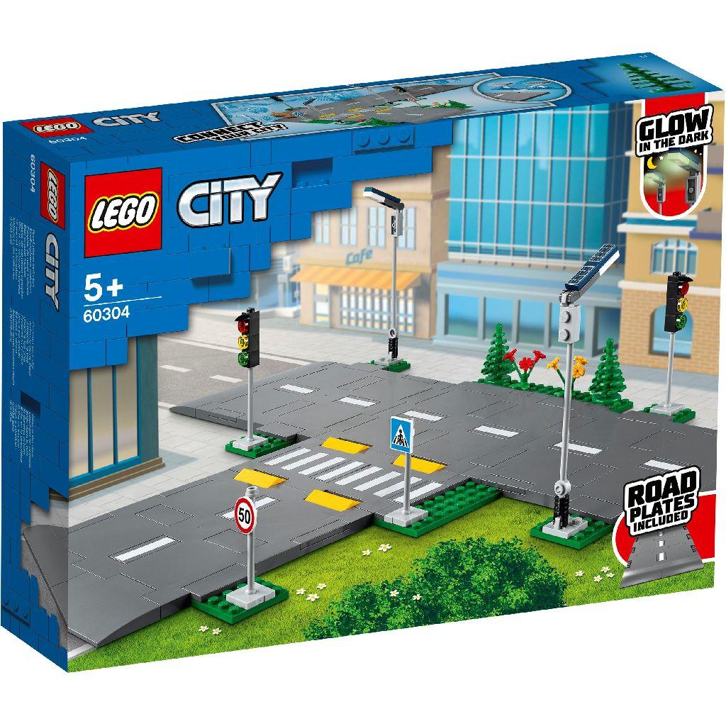【2021.1月新品】LEGO 樂高積木 City Town 60304 道路底板