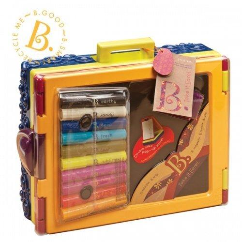 美國B.Toys感統玩具 沃客旅行小畫架