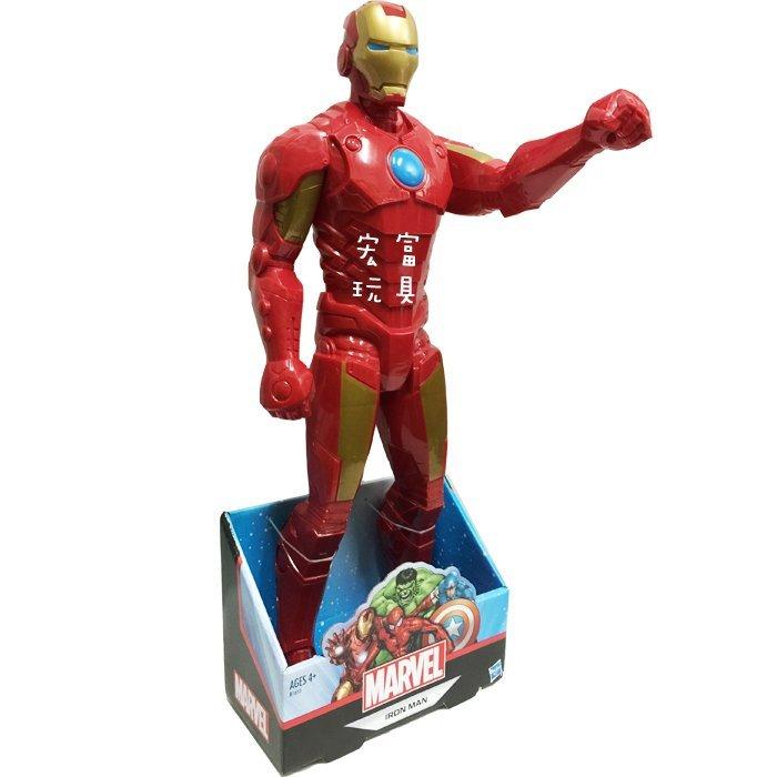 漫威泰坦英雄系列XL鋼鐵人(約50公分)