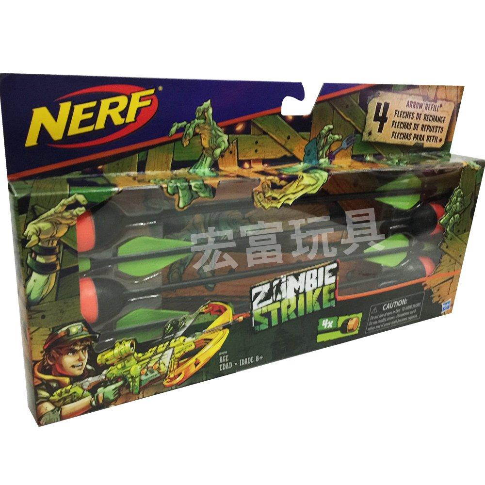 NERF 弓箭鏢4入配件組