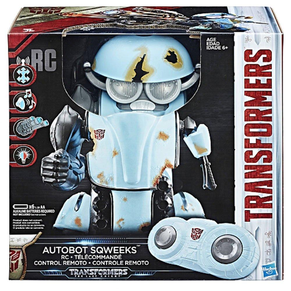 變形金剛 電影5 最終騎士 電子聲光 遙控機器人 吱吱 小摩托 小靈通