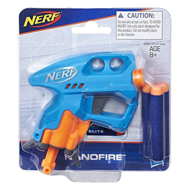 NERF樂活打擊 奈米掌心雷 藍