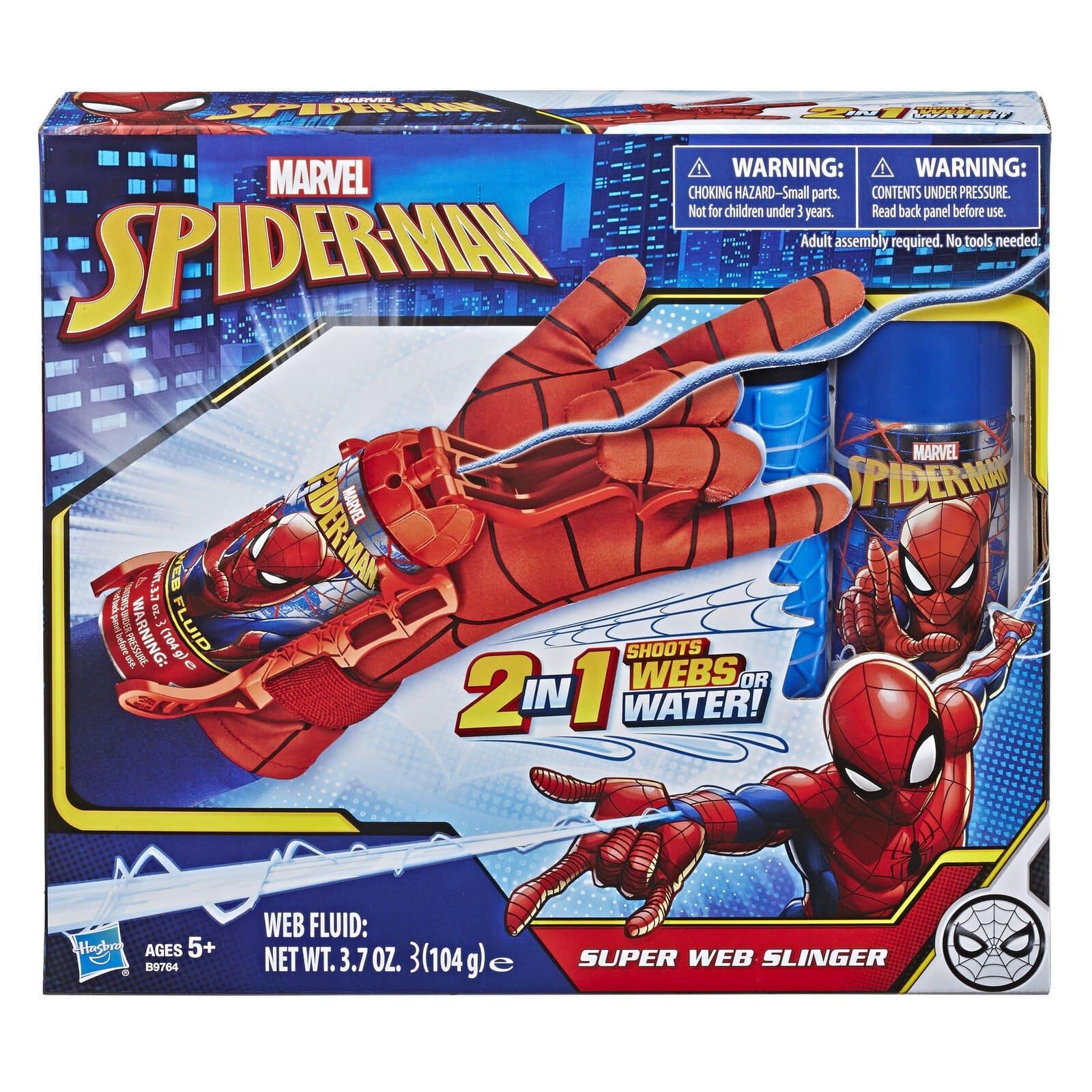 漫威 蜘蛛人 超級網子發射器玩具