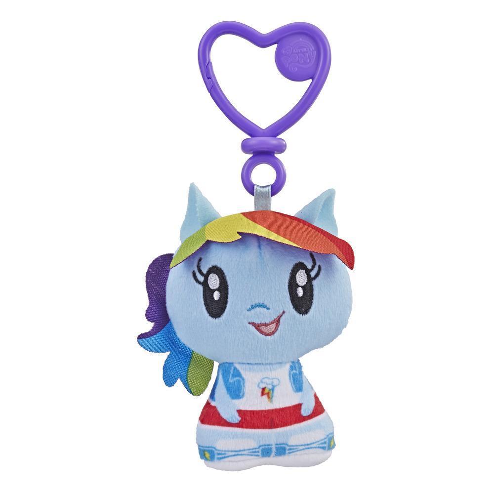 彩虹小馬 小可愛絨毛鑰匙圈 Raunbow Dash (E3445/E2920)
