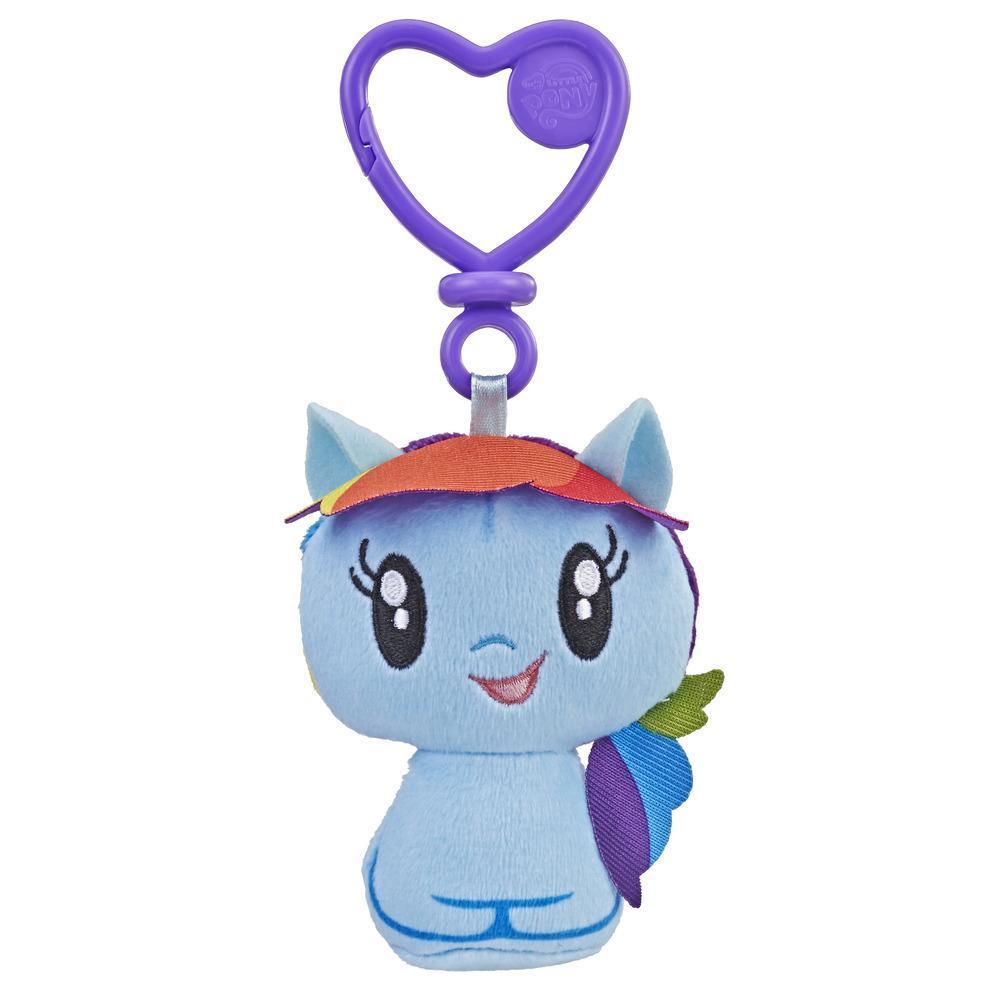 彩虹小馬 小可愛絨毛鑰匙圈 Raunbow Dash (E3444/E2920)