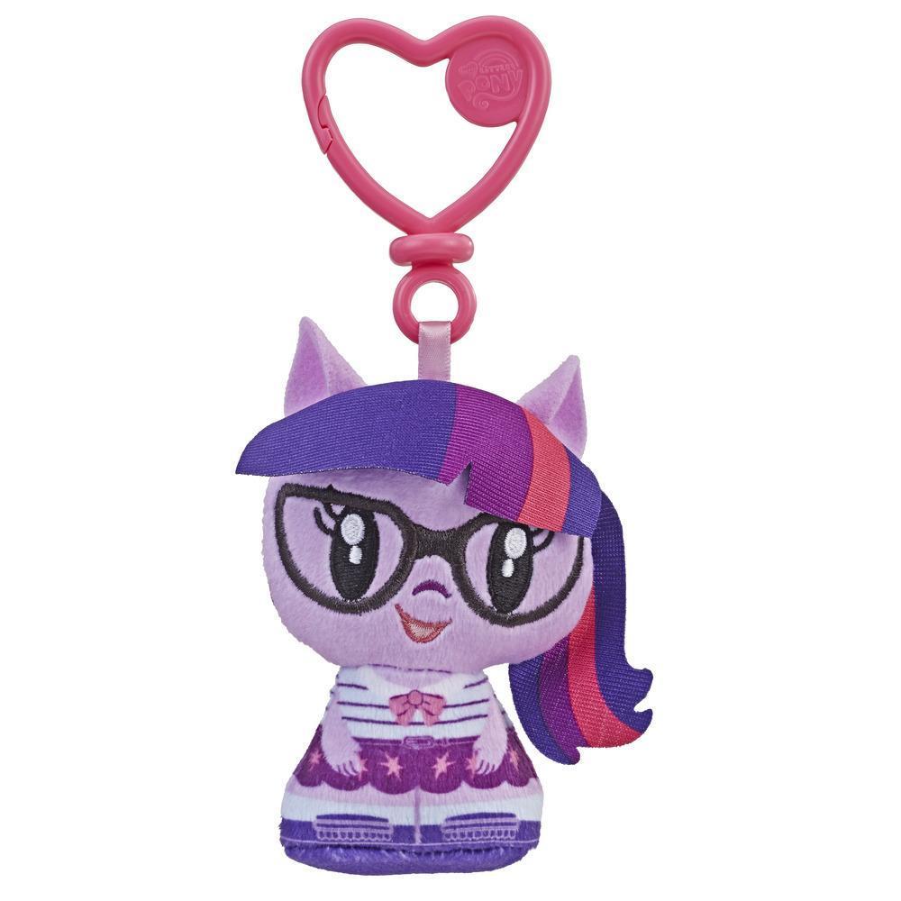 彩虹小馬 小可愛絨毛鑰匙圈 Twiligft Sparkle (E3448/E2920)