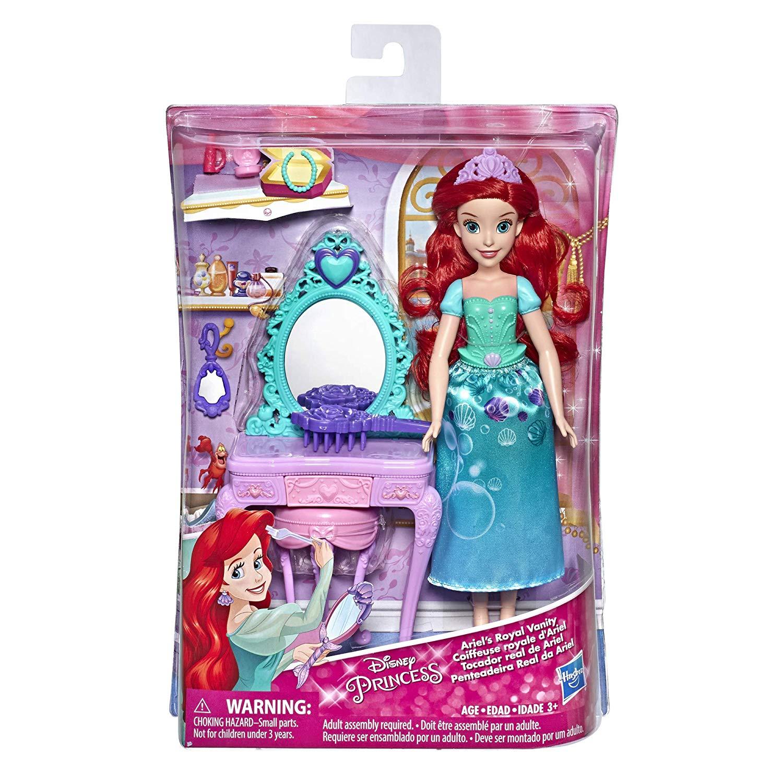 迪士尼公主與場景配件組 小美人魚 愛麗兒