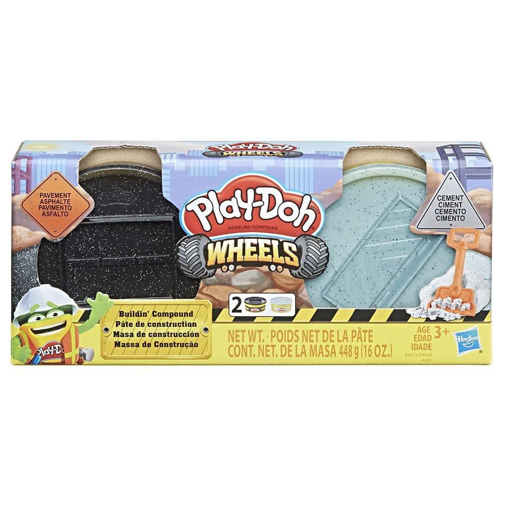 培樂多車輪系列 材質黏土 【柏油與水泥 】