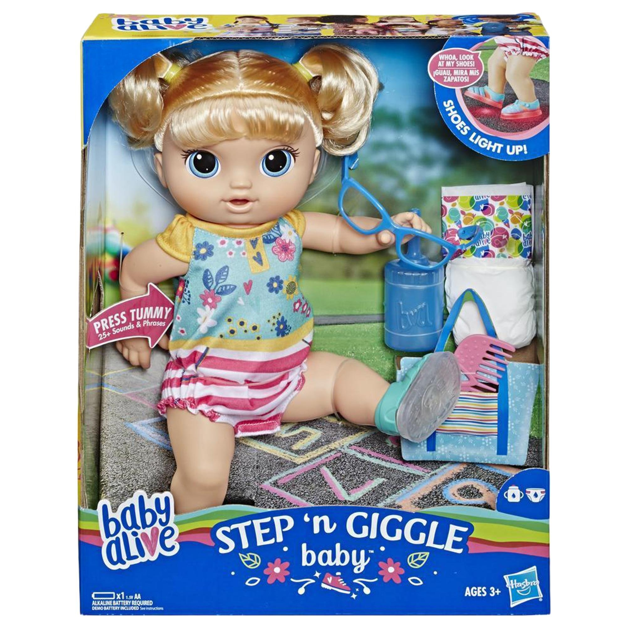 淘氣寶貝 學步娃娃