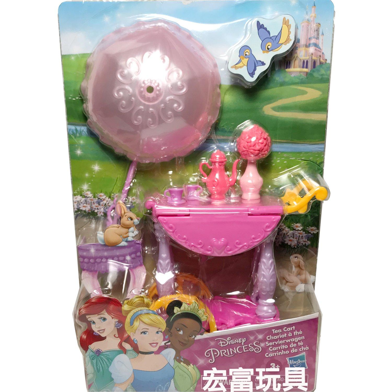 迪士尼公主小型扮家家酒遊戲組 美女與野獸 貝兒