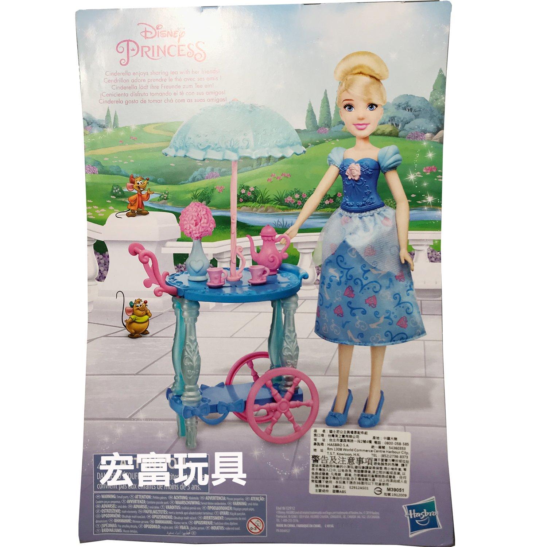 迪士尼公主與場景配件組 灰姑娘 仙杜瑞拉