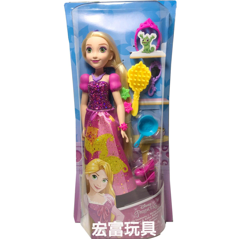 迪士尼公主與配件組 魔髮奇緣 樂佩