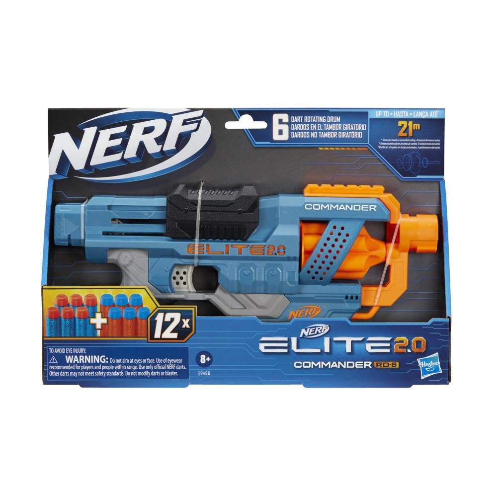NERF 菁英系列 指揮官 RD 6(HE9486)