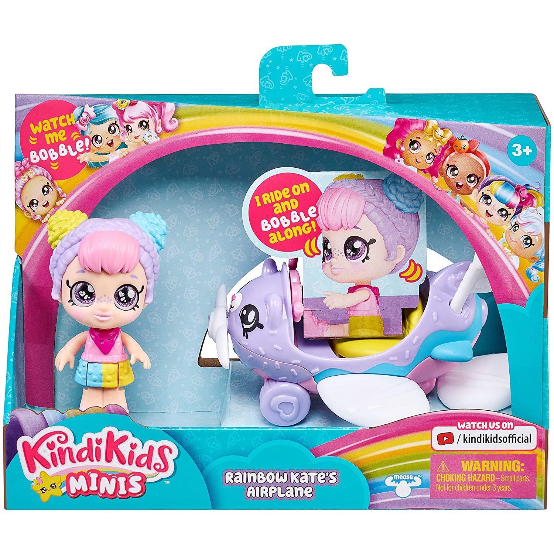 Kindi Kids Minis 交通工具 Rainbow Kate