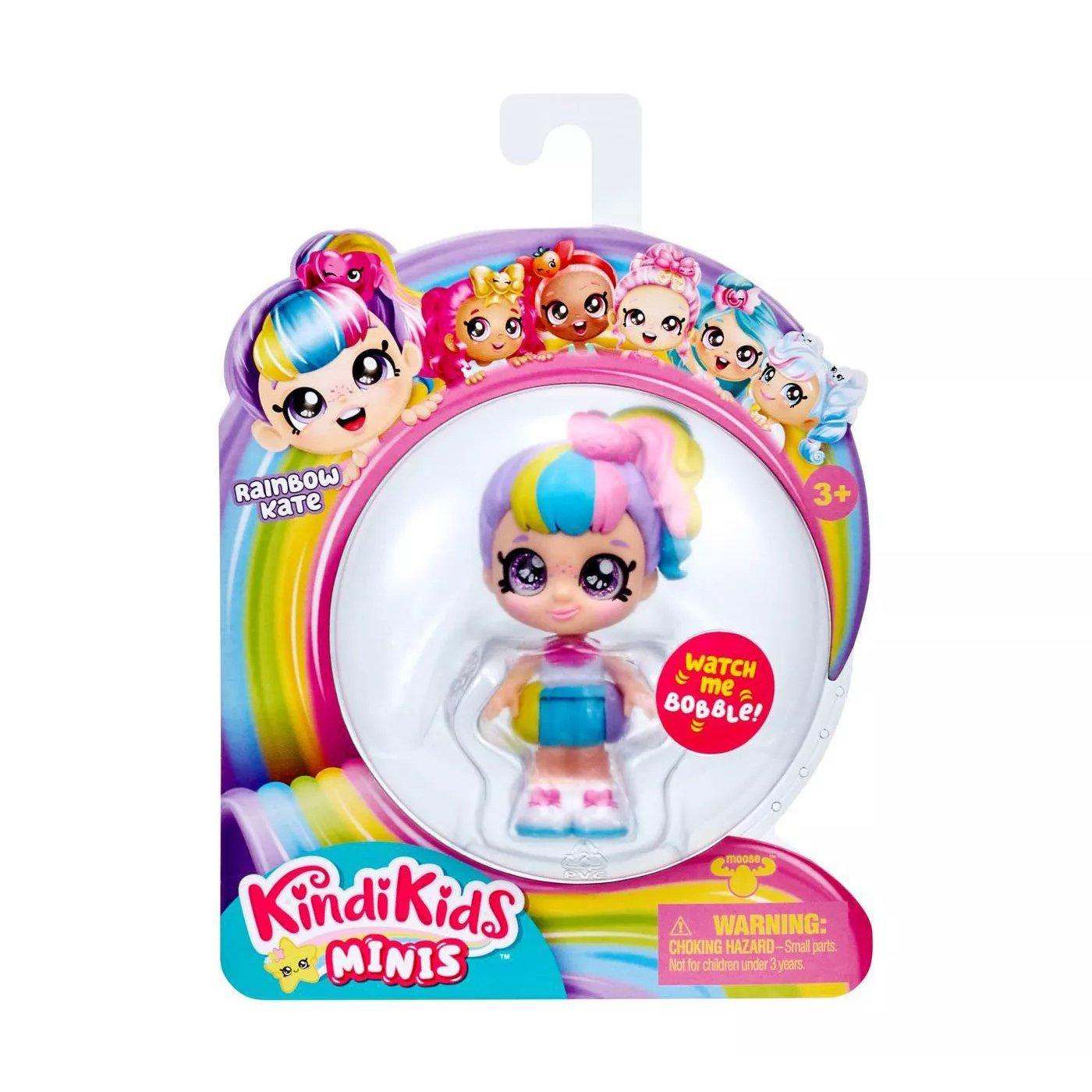 Kindi Kids Minis 娃娃 Rainbow Kate