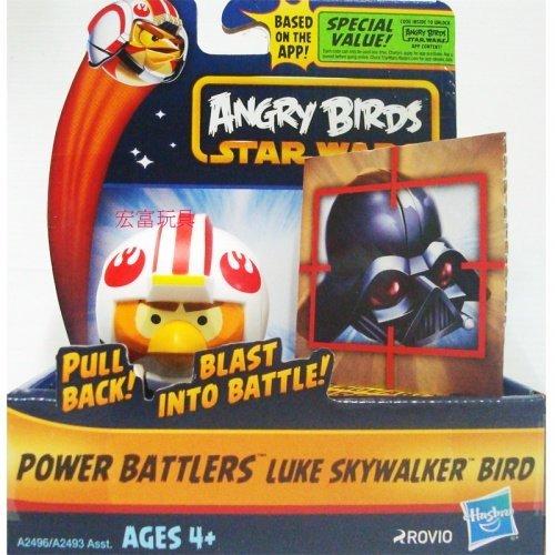 星際大戰-憤怒鳥迴力戰鬥組LUKE SKYWALKER BIRD 迴力車