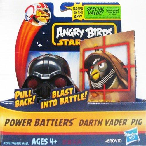 星際大戰-憤怒鳥迴力戰鬥組 DARTH VADER PIG 迴力車