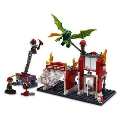 KRE-O 積木組 城市小鎮系列FIRE STATION DRAGON ATTACK