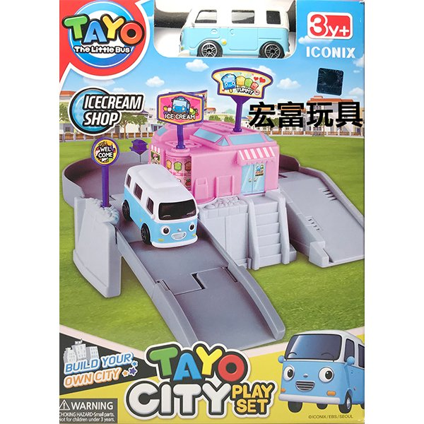 TAYO小巴士 迷你世界冰淇淋店