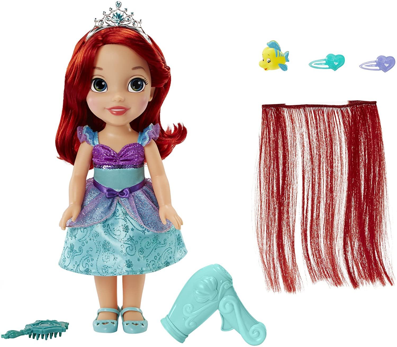 迪士尼公主變髮造型組 小美人魚 愛麗兒