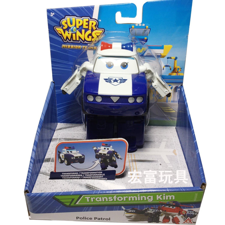 SUPER WINGS 變形 巡邏員警隊 小金
