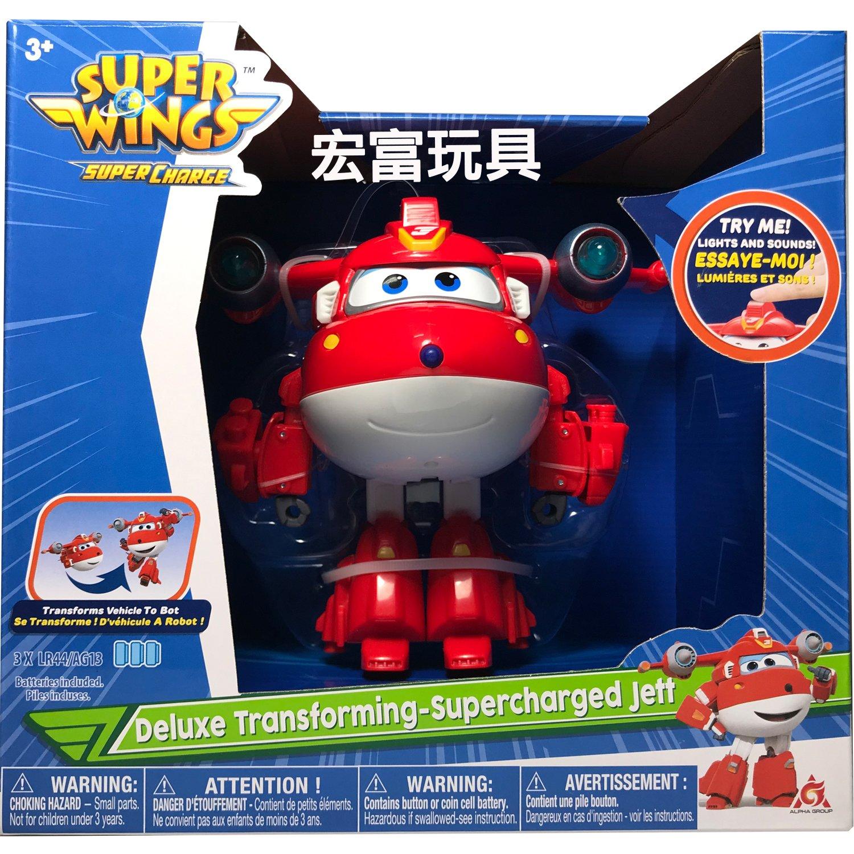 SUPER WINGS 超動力聲光變形杰特