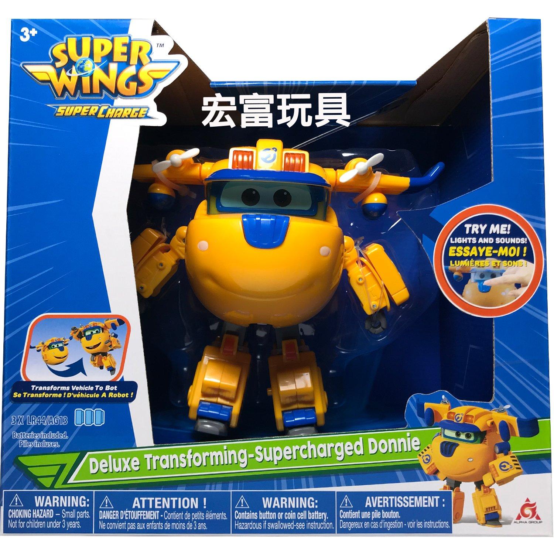 SUPER WINGS 超動力聲光變形多尼