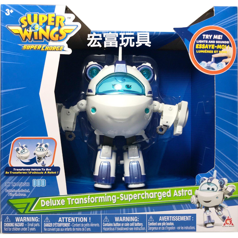 SUPER WINGS 超動力聲光變形小米