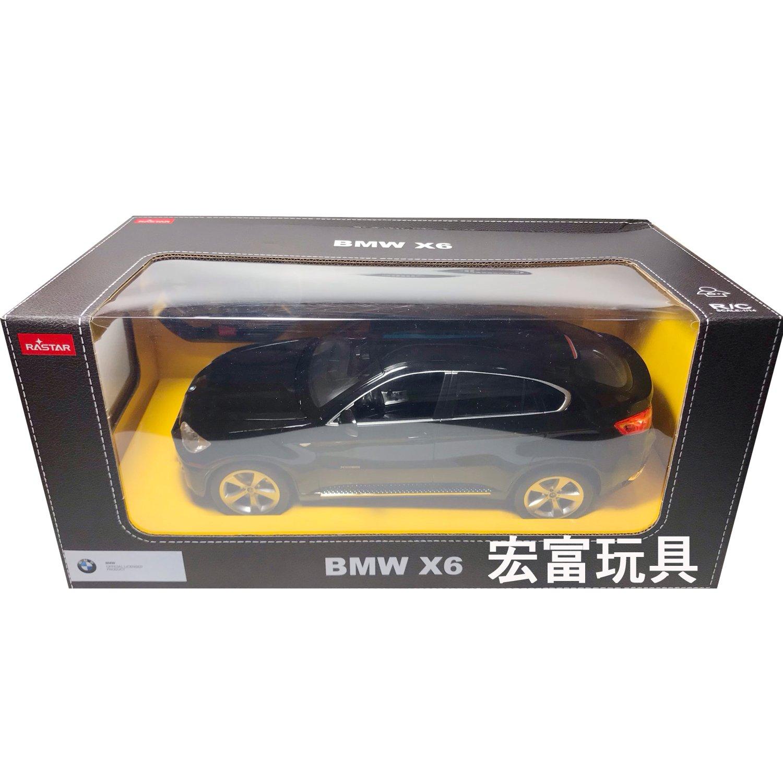 瑪琍歐 1/14 遙控車 BMW X6 【黑】31400