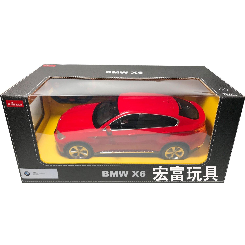 瑪琍歐 1/14 遙控車 BMW X6 【紅】31400