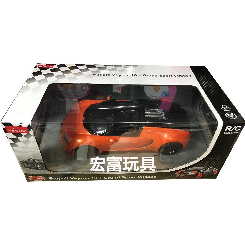 瑪琍歐 1/14遙控車 布加迪 【橘】【70400】