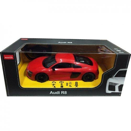 瑪琍歐 1/14 遙控車 Audi R8(紅) 74400