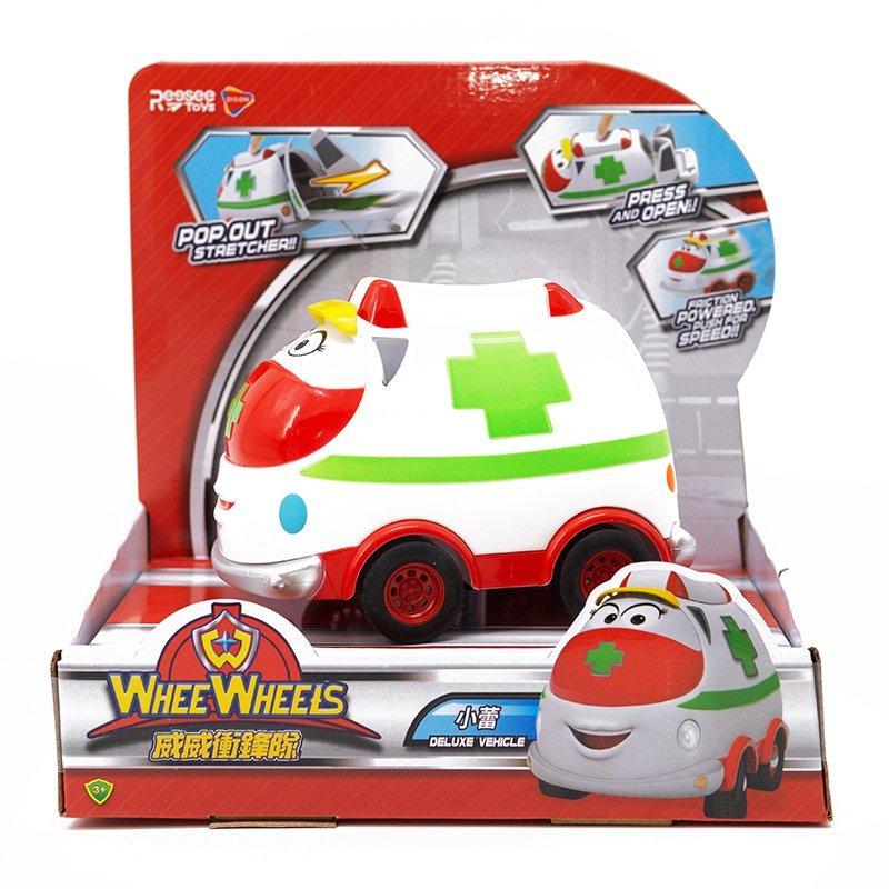 WheeWheels 威威衝鋒隊 豪華車 小蕾