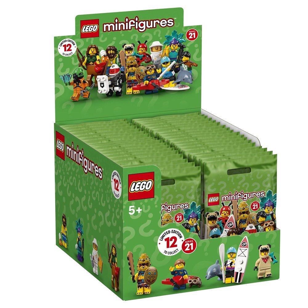 【2021.1月新品】樂高積木 LEGO Minifigures 人偶抽抽樂 71029 第21代 (ㄧ盒60入)