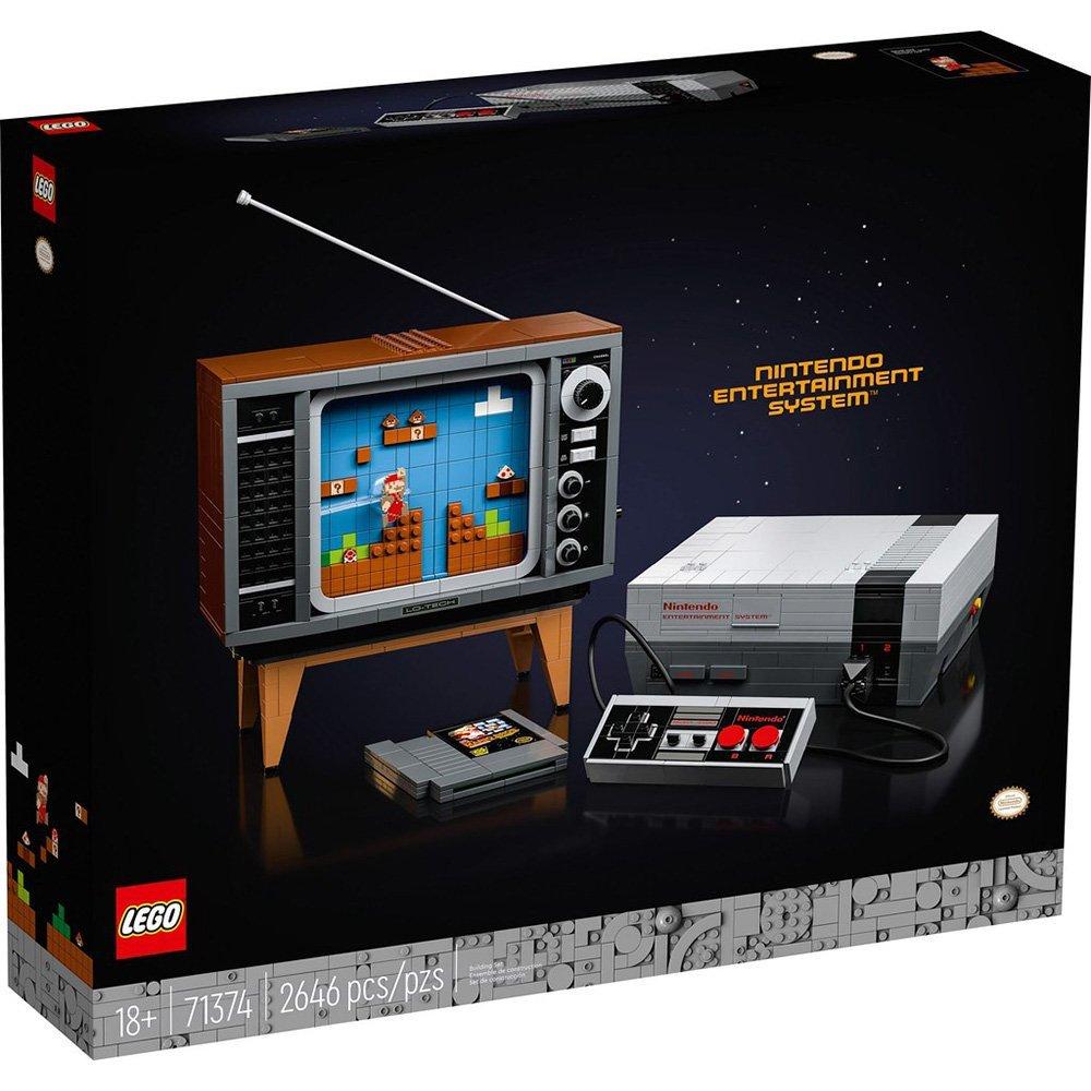 【2021.1月新品】LEGO 樂高積木 Super Mario 超級瑪利歐 71374 任天堂娛樂系統