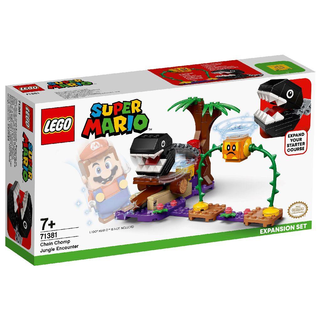 【2021.1月新品】LEGO 樂高積木 Super Mario 超級瑪利歐 71381 汪汪叢林奇遇
