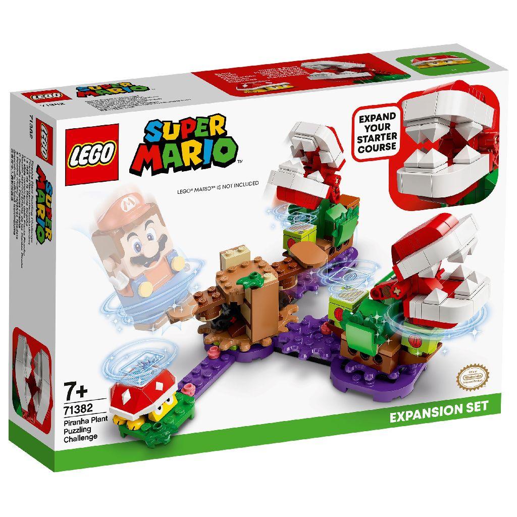 【2021.1月新品】LEGO 樂高積木 Super Mario 超級瑪利歐 71382 吞食花益智解謎組
