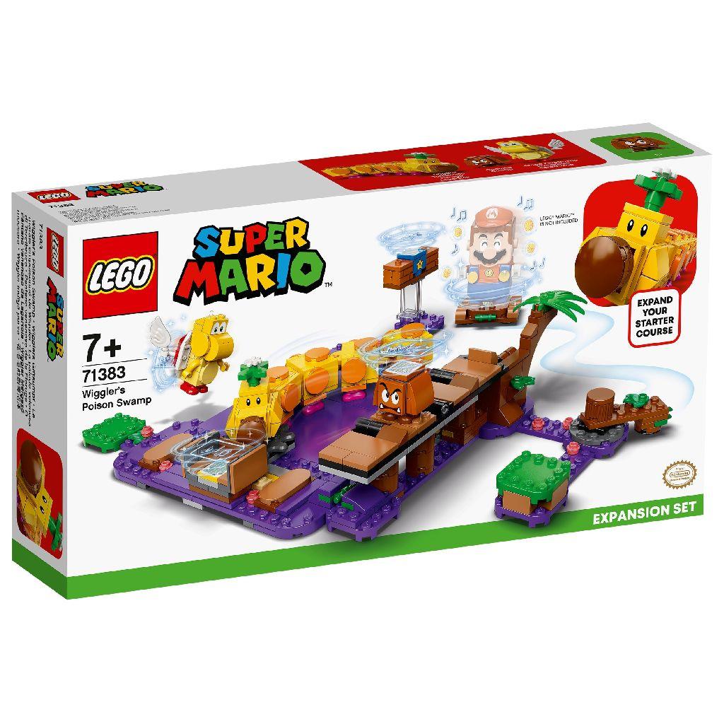 【2021.1月新品】LEGO 樂高積木 Super Mario 超級瑪利歐 71383 花毛毛的毒沼澤