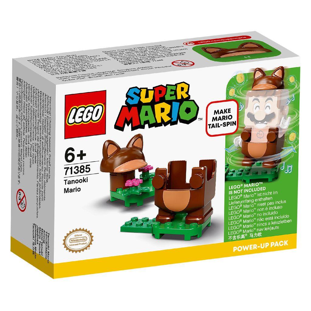 【2021.1月新品】LEGO 樂高積木 Super Mario 超級瑪利歐 71385 貍貓瑪利歐