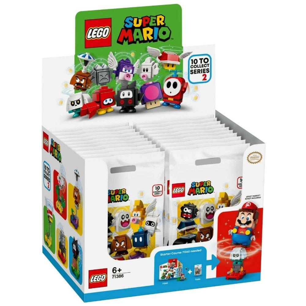 【2020.8月新品】LEGO 樂高積木 Super Mario 超級瑪利歐 LT71386 角色組合包 第2代【一中盒隨機出貨】